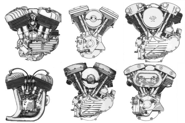 Puzzles on V Twin Motorcycle Engine Diagram